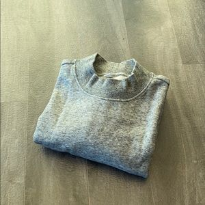Women's Uniqlo oversized sweater grey